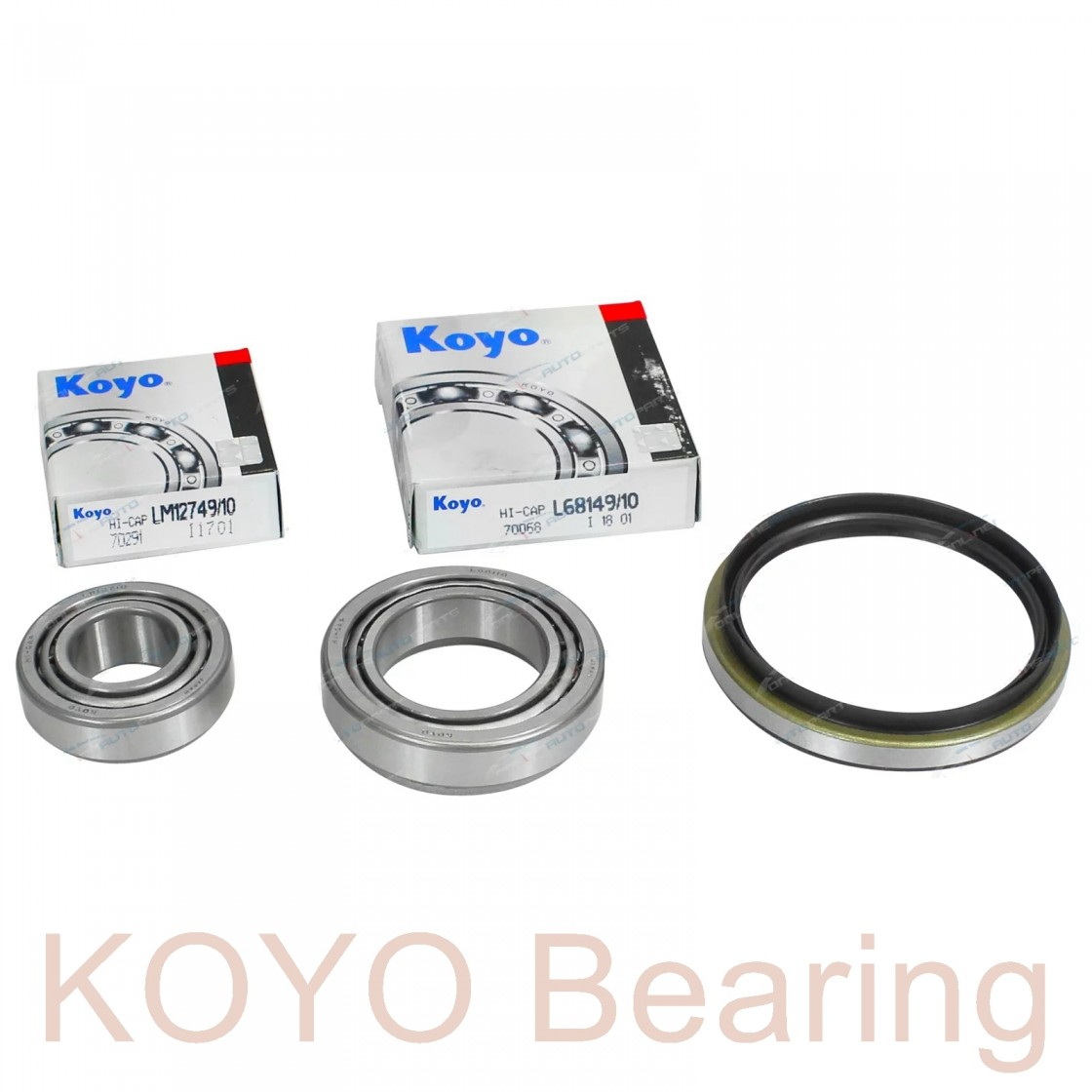 KOYO 17118/17244 tapered roller bearings