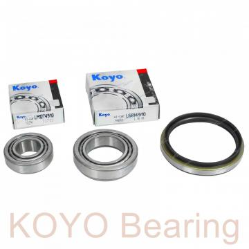 KOYO 83A5518 angular contact ball bearings
