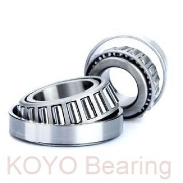 KOYO 6206-2RU deep groove ball bearings